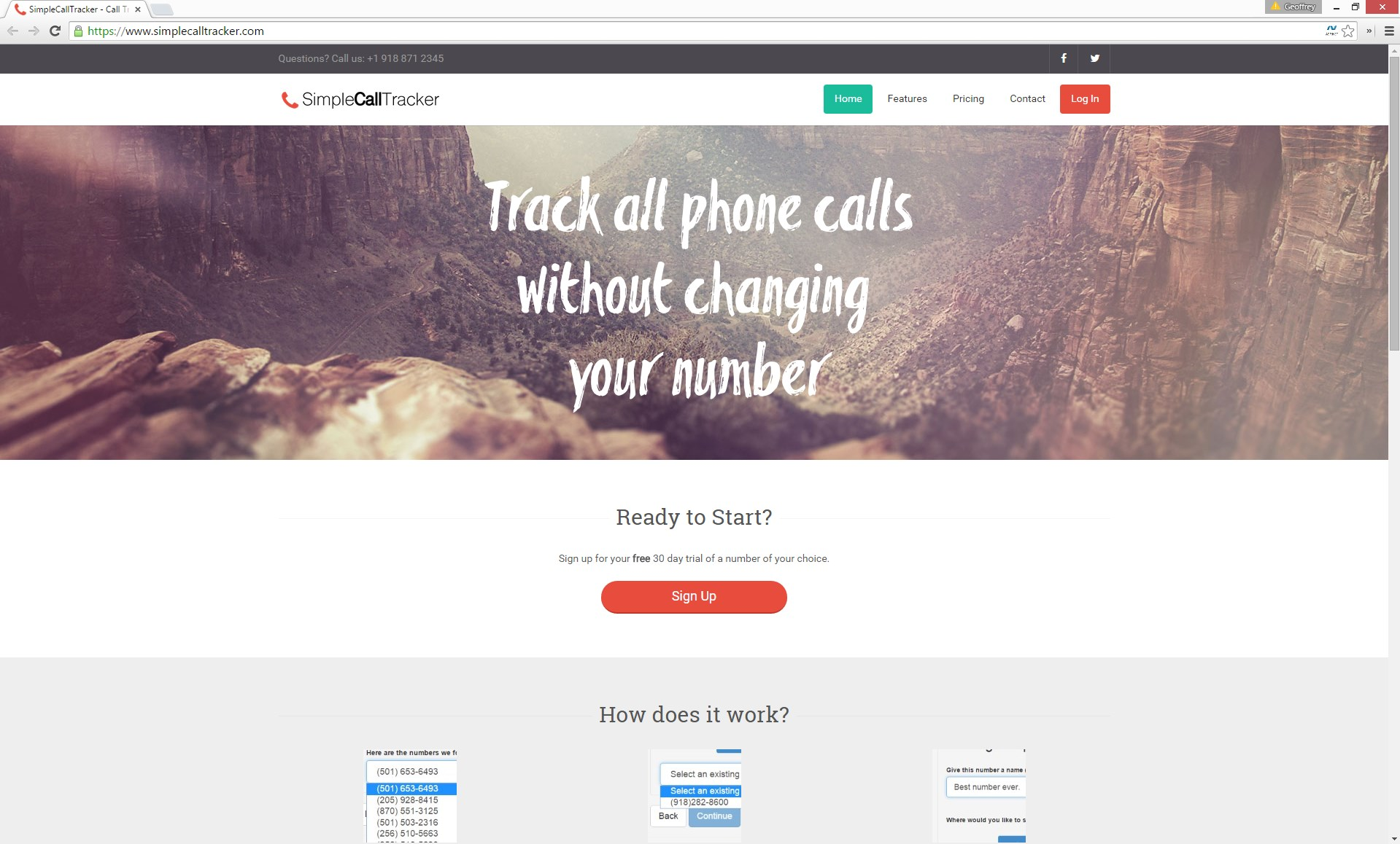 SimpleCallTracker